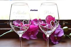 Nádoby - Mirka - svadobné poháre - 2ks - 9807565_