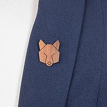 Odznaky/Brošne - Brošňa vlk - 9808650_