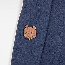 Odznaky/Brošne - Brošňa panda - 9808652_