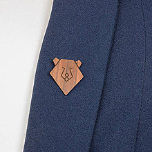 Odznaky/Brošne - Brošňa medveď - 9808665_