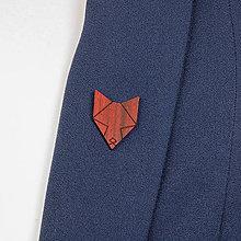 Odznaky/Brošne - Brošňa líška - 9808679_