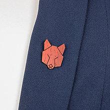 Odznaky/Brošne - Brošňa vlk - 9808683_