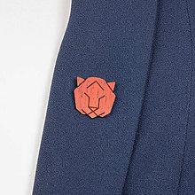 Odznaky/Brošne - Brošňa tiger - 9808685_