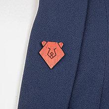 Odznaky/Brošne - Brošňa medveď - 9808694_