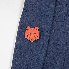 Odznaky/Brošne - Brošňa panda - 9808702_