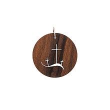 Náhrdelníky - Prívesok kríž - 9808850_