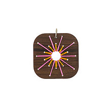 Náhrdelníky - Prívesok / náhrdelník slnko - 9808866_
