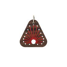 Náhrdelníky - Prívesok / náhrdelník oheň - 9808872_
