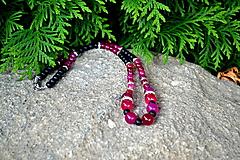Náhrdelníky - Achát orgovánový - ochranný náhrdelník - 9807848_