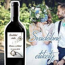 Darčeky pre svadobčanov - Svadobné etikety 41 - 9806824_