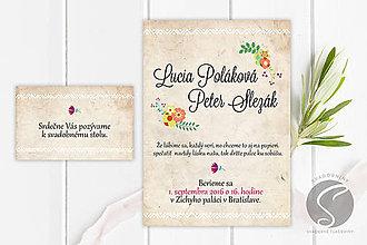 Papiernictvo - Svadobné oznámenie - SO002 - 9806578_