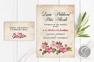 Papiernictvo - Svadobné oznámenie - SO012 - 9806586_