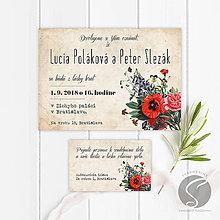 Papiernictvo - Svadobné oznámenie - SO032 - 9806590_