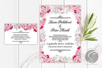 Papiernictvo - Svadobné oznámenie - SO041 - 9806606_