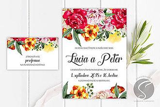 Papiernictvo - Svadobné oznámenie - SO042 - 9806609_