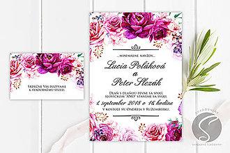 Papiernictvo - Svadobné oznámenie - SO055 - 9806616_