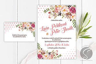 Papiernictvo - Svadobné oznámenie - SO057 - 9806651_