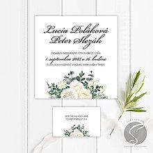 Papiernictvo - Svadobné oznámenie - SO058 - 9806660_