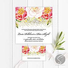 Papiernictvo - Svadobné oznámenie - SO060 - 9806667_