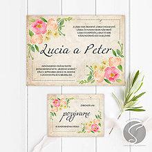 Papiernictvo - Svadobné oznámenie - SO062 - 9806751_