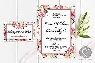 Papiernictvo - Svadobné oznámenie - SO078 - 9806852_