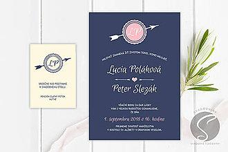Papiernictvo - Svadobné oznámenie - SO076 - 9806896_