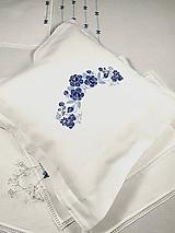 Úžitkový textil - Folk vyšívaný vankúšik - 9805850_