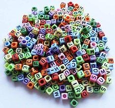 Korálky - Písmenká farebné - vyber si - 9810664_