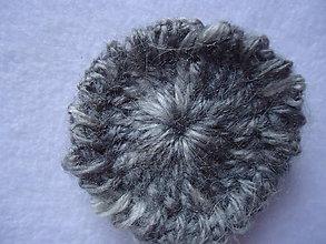 Materiál ručne robený - hačkované koliečko - 9811487_