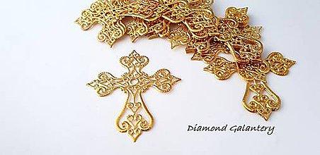 Komponenty - Filigrán - Kríž - Zlato - 9811035_