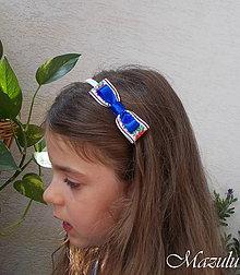 Ozdoby do vlasov - detská čelenka v ľudovom tóne II. - 9809046_