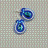 Náušnice - Confetti n.4 - sutaškové náušnice - 9811179_