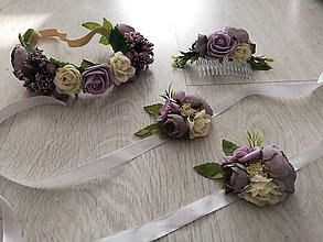 Ozdoby do vlasov - Setík na svadbu - 9810820_