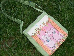 Detské tašky - Kabelka pre malú slečnu - 9810467_
