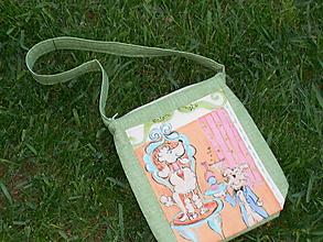 Detské tašky - Kabelka s obrázkom psíkov - 9810497_