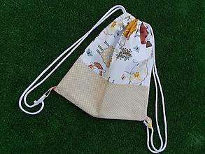 Detské tašky - batôžtek na chrbát - ovečky - 9810543_