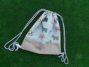 Detské tašky - Batôžtek tyrkysový - 9810590_