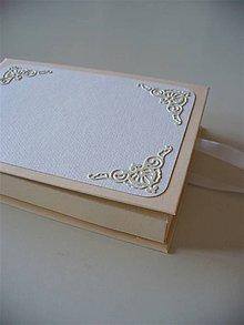 Papiernictvo - svadobný obal na foto - 9810203_
