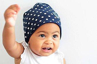 Detské čiapky - Dvojvrstvová čiapka