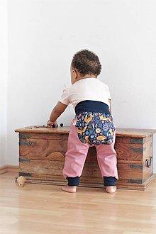 """Detské oblečenie - Softshellky """"líštička na lúke sníva"""" - 9810274_"""