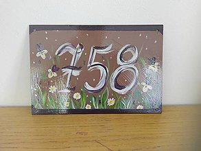 Tabuľky - číslo domu - 9809822_
