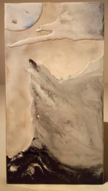 Obrazy - Obraz Vlk a mesiac - 9810920_