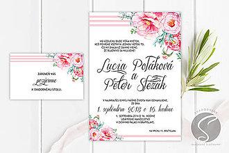 Papiernictvo - Svadobné oznámenie - SO072 - 9809314_