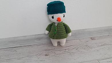 Hračky - snehuľko/snehuliak - 9811675_