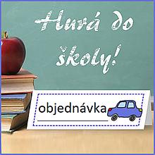 Detské doplnky - Menovky autíčka - REZERVOVANÉ - 9808988_