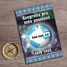 Papiernictvo - Školský zošit geografia - 9810745_