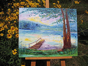 Obrazy - Prázdniny pri vode - 9812417_