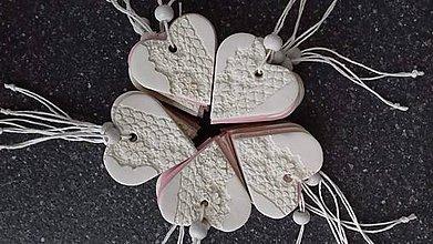 Darčeky pre svadobčanov - Srdiecko - 9811862_