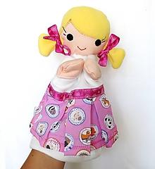 Hračky - Maňuška dievčatko - Paulínka - 9813950_