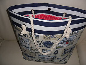 Veľké tašky - Plážová taška- znížená cena z 29,90- teraz 25,90 - 9812395_